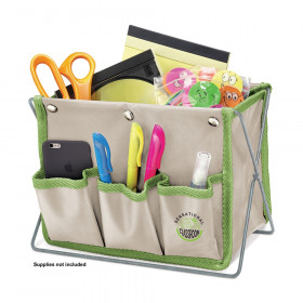 Sensational Classroom 3-Pocket Desk Organizer