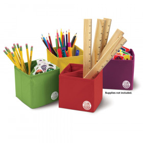 Sensational Classroom Essential Collapsible Storage Boxes, Set of 4