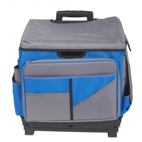 Universal Rolling Cart and Organizer Bag, Blue