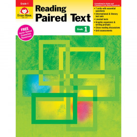 Reading Paired Text: Lessons for Common Core Mastery, Grade 1