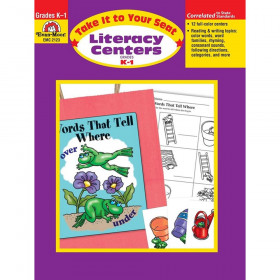 Take It to Your Seat Literacy Centers Book, Grades K-1