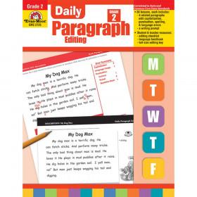 Daily Paragraph Editing Book, Grade 2