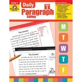 Daily Paragraph Editing Book, Grade 3
