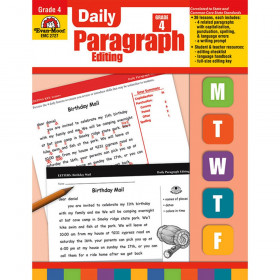 Daily Paragraph Editing Book, Grade 4