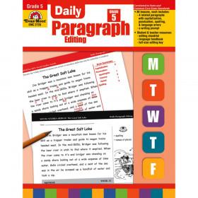 Daily Paragraph Editing Book, Grade 5