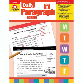 Daily Paragraph Editing Book, Grade 6