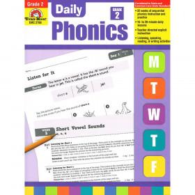 Daily Phonics Book, Grade 2