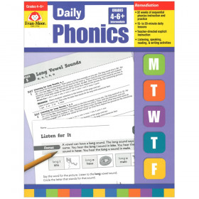 Daily Phonics Book, Grade 4-6+