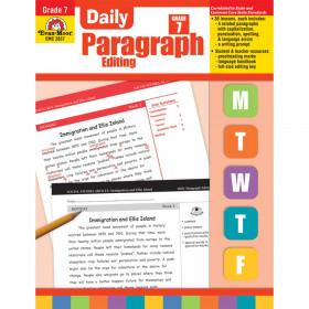 Daily Paragraph Editing Book, Grade 7