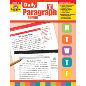 Daily Paragraph Editing Book, Grade 8