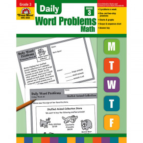 Daily Word Problems Gr 3