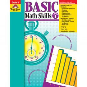 Basic Math Skills Gr 4