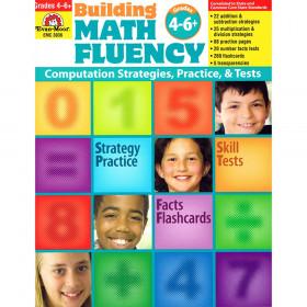 Building Math Fluency Book, Grade 4-6+