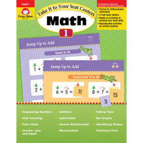 Take It To Your Seat Gr 1 Math Centers