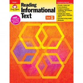 Reading Informational Text: Lessons for Common Core Mastery, Grade 1