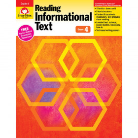 Reading Informational Text: Lessons for Common Core Mastery, Grade 4