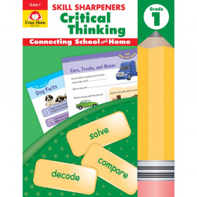 Skill Sharpeners Critical Thinking, Grade 1