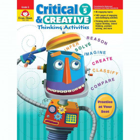 Critical and Creative Thinking Activities Book, Grade 5