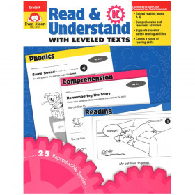 Read & Understand with Leveled Texts Book, Grade K