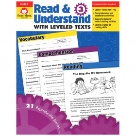 Read & Understand with Leveled Texts Book, Grade 3