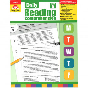 Daily Reading Comprehension Gr 5