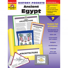 History Pockets Ancient Egypt Book, Grade 4-6+
