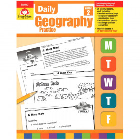 Daily Geography Practice Book, Grade 2