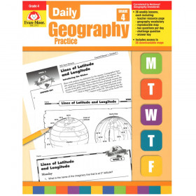 Daily Geography Practice Book, Grade 4