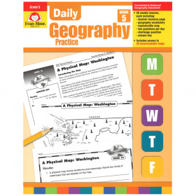 Daily Geography Practice Book, Grade 5
