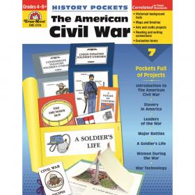 History Pockets: The American Civil War Book, Grades 4-6+