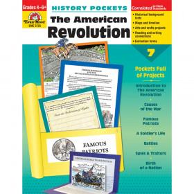 History Pockets: The American Revolution Book, Grades 4-6+
