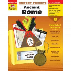 History Pockets: Ancient Rome Book, Grades 4-6+