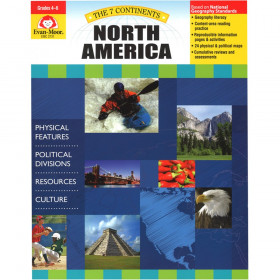 The 7 Continents: North America, Grades 4-6+
