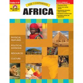Evan-Moor The 7 Continents: Africa, Grades 4-6+