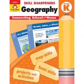 Skill Sharpeners: Geography, Grade K - Activity Book