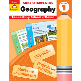 Skill Sharpeners: Geography, Grade 1 - Activity Book