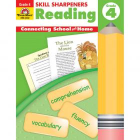 Skills Sharpeners Reading Gr 4 Activity Book