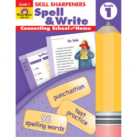 Skill Sharpeners Spell & Write Book, Grade 1
