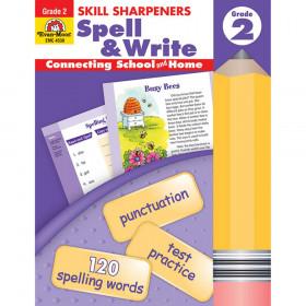 Skill Sharpeners Spell & Write Book, Grade 2