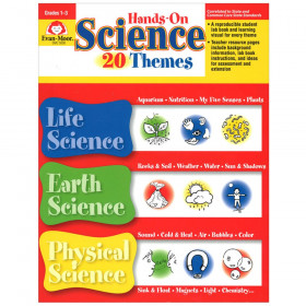 Hands-On Science 20 Themes Book, Grades 1-3