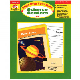 Take It to Your Seat Science Centers Book, Grades 3-4