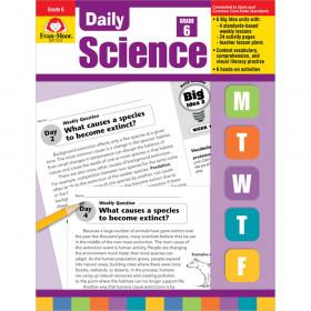 Evan-Moor Daily Science Book, Grade 6+