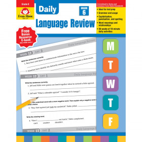 Daily Language Review Gr 6