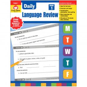 Daily Language Review Gr 1