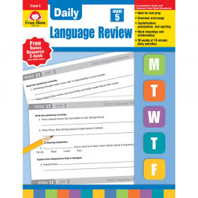 Daily Language Review Teacher's Edition, Grade 5