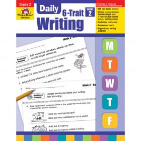 Daily 6-Trait Writing Book, Grade 2