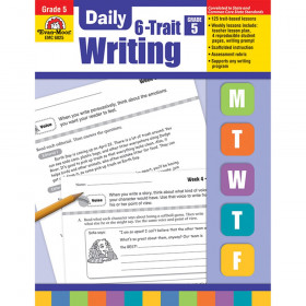 Daily 6-Trait Writing Book, Grade 5