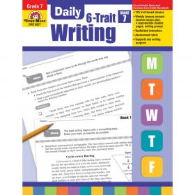 Evan-Moor EMC6027 Daily 6-Trait Writing, Grade 7