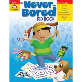 The Never-Bored Kid Book - Activity Book, Grades PreK-K