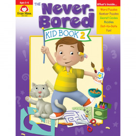 The Never-Bored Kid Book 2 - Activity Book, Grades K-1